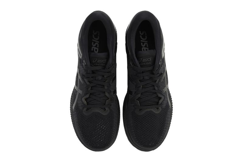 ASICS Metaride Sneakers Triple Black 71I WL9022 menswear streetwear trainers runners shoes spring summer 2020 collection kicks knit breathable Rubber air chamber lifestyle