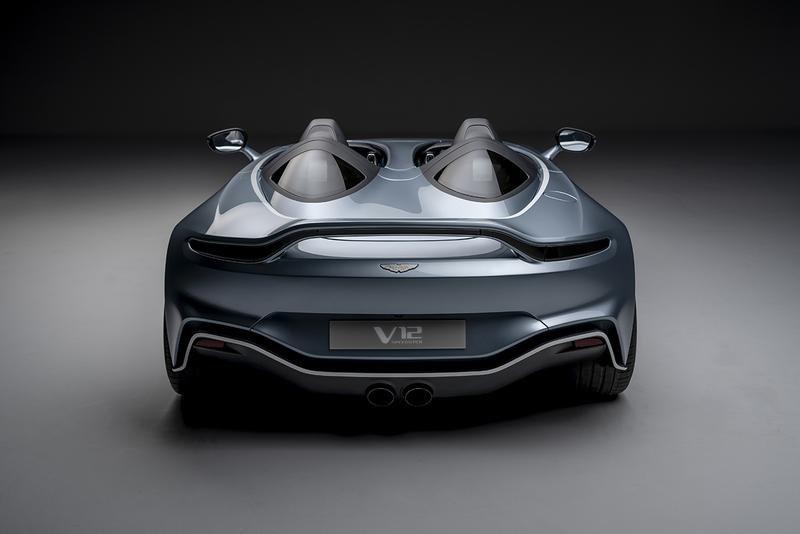 Aston Martin V12 Speedster Official First Look Release Information £765,000 GBP Deliveries 2021 AM Unique Limited to 88 Units Special Edition Supercar Performance Rare Roofless Windowscreenless