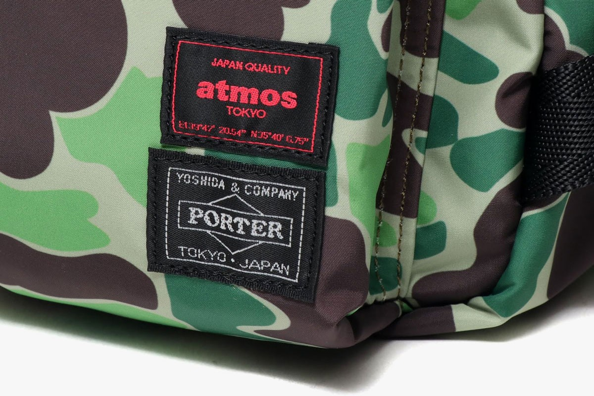 atmos x TAKARA TOMY Transformers Optimus Prime MP-10DC Figure Air Max Day porter bags tee shirts duck camouflage print pattern japan release date info march 26 2020