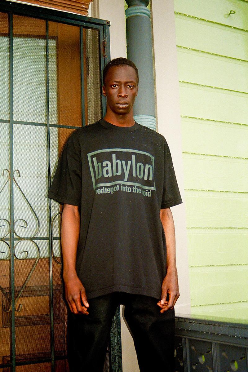Babylon LA SS20 Drop 2 Lookbook Spring/summer 2020 streetwear hoodies t-shirts graphics together into the void