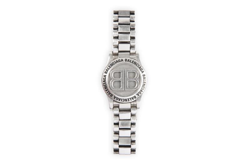 Balenciaga Time Bracelet Gold Silver Release Info Buy Price