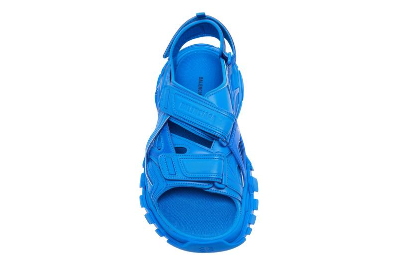 balenciaga track sandal classic blue pantone color of the year 2020 release date info photos price