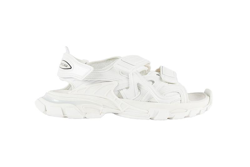 Balenciaga Track Sandal Sneaker Spring/Summer 2020 collection footwear ss20 release date info buy colorway white black 617542W2CC11000 617542W2CC19000 menswear neoprene rubber Polyurethane polyester nylon
