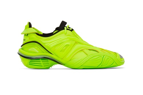 "Balenciaga's Tyrex Sneakers Arrives in Bright ""Fluo Yellow"""