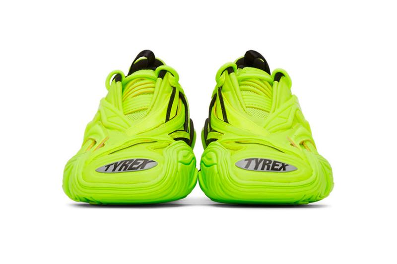 Balenciaga Tyrex Sneakers Fluo Yellow Release Info Buy Price SSENSE