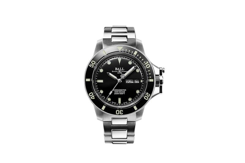 Ball Watch Engineer Hydrocarbon Original Watch lume tritium gas dive watch swiss made automatic wristwatch