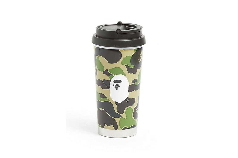 bape abc camouflage coffee tumbler 450ml green pink blue hot tea mug home decor