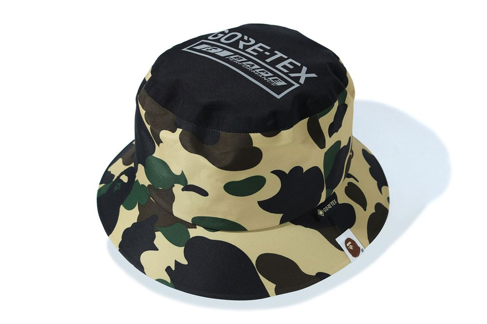 BAPE GORE-TEX Capsule Spring/Summer 2020 Collection parka jacket pants track bucket hat shark mouth logo print graphic ss20 release date info buy march 28