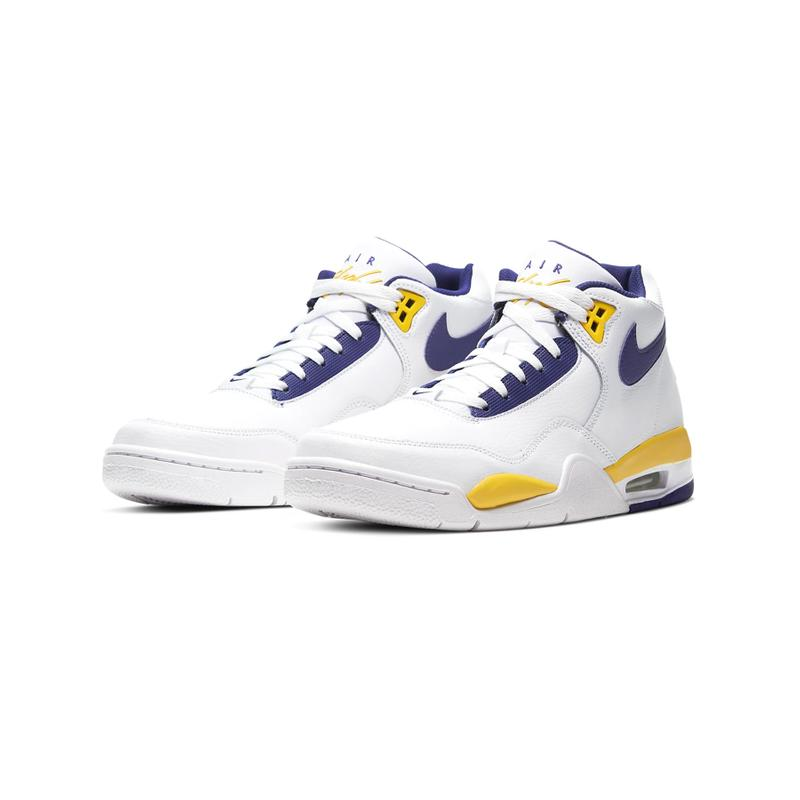 """Nike Air Flight Legacy """"Lakers"""" Release 2020 Where to Buy"""