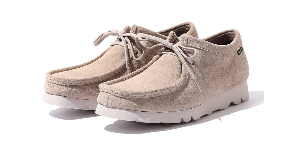 BEAMS and Clarks Reunite for GORE-TEX Equipped Wallabee Lows