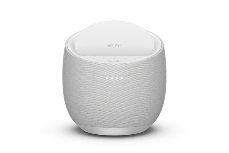 Belkin x Devialet SOUNDFORM ELITE Smart Speaker/Wireless Charger SAM wireless hi-fi google assistant iphone wireless charging speakers