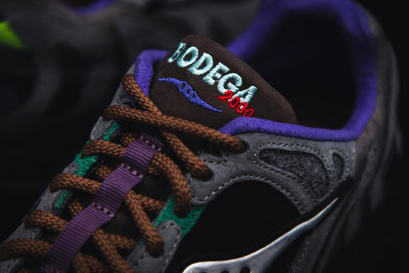 bodega saucony grid azura 2000 ever ready suede leather mesh pebbled release information buy cop purchase news details sneaker footwear trainer