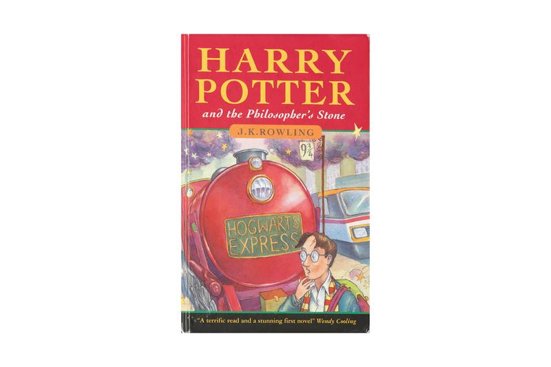 Harry Potter and the Philosopher's Stone First Edition £118,000 GBP Auction Rowling J.K. Rowling Wizards Hogwarts Bryony Evens Christopher Little auctions Bonhams