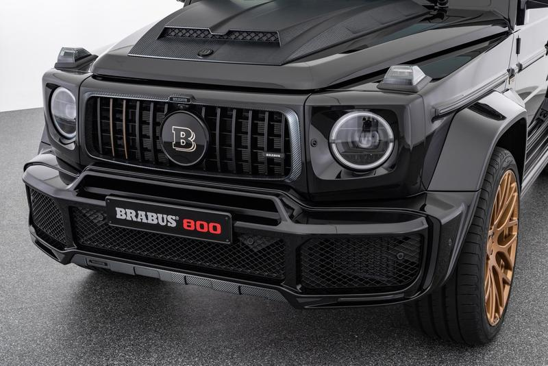 Brabus 800 Mercedes-AMG G63 Black and Gold Edition Reveal Info Buy Price