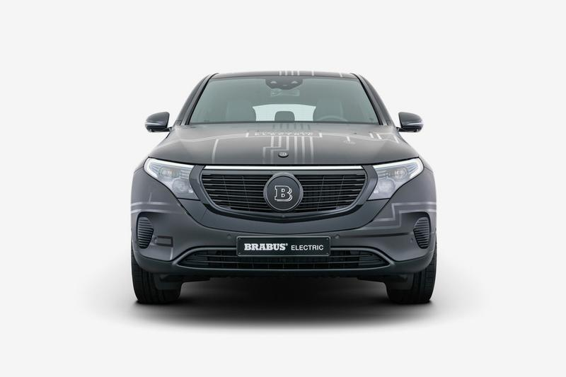 Brabus Electric Concept for Mercedes-Benz EQC 400 Closer Look Official Cars Automotive News German Engineering SUV EV E-PowerXtra Upgrade ZERO EMISSION Bodykit Adjustment Rims Wheels Tuning Company