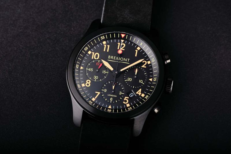 bremont alt1 p2 jet watch 2020 collection dlc coating