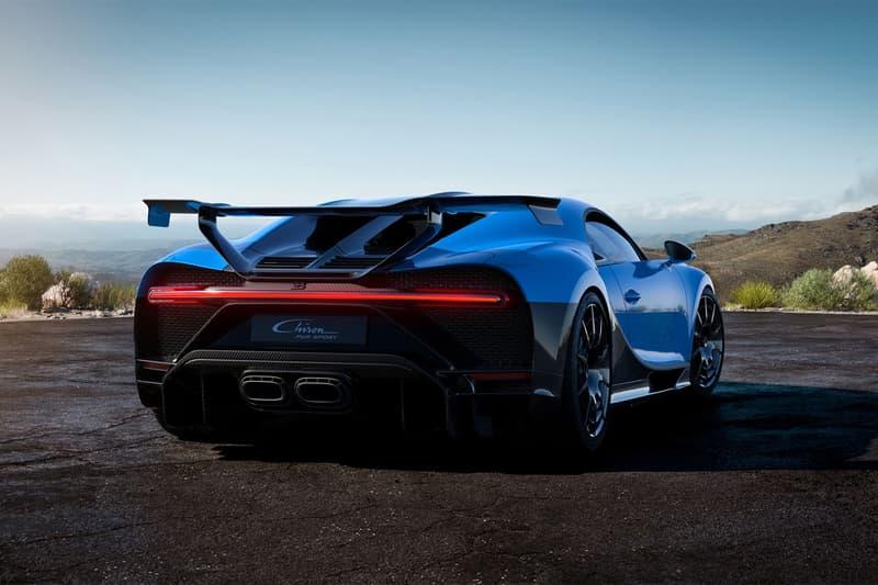 bugatti chiron pur sport sports car racing racer cornering turning agility dynamic