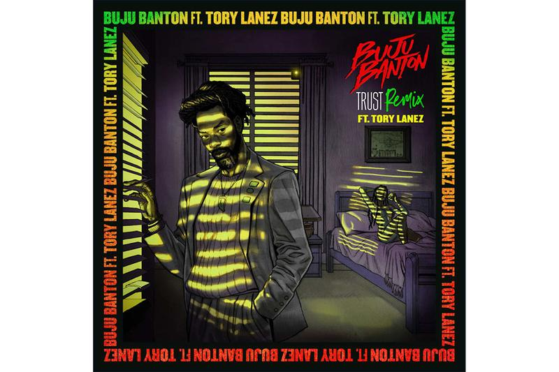 Buju Banton tory lanez Trust remix Single Stream chixtape 5 steppaz riddim reggae dancehall
