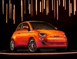 Fiat's Electric 500 Supermini Gets One-of-One Bejeweled Rework by BVLGARI