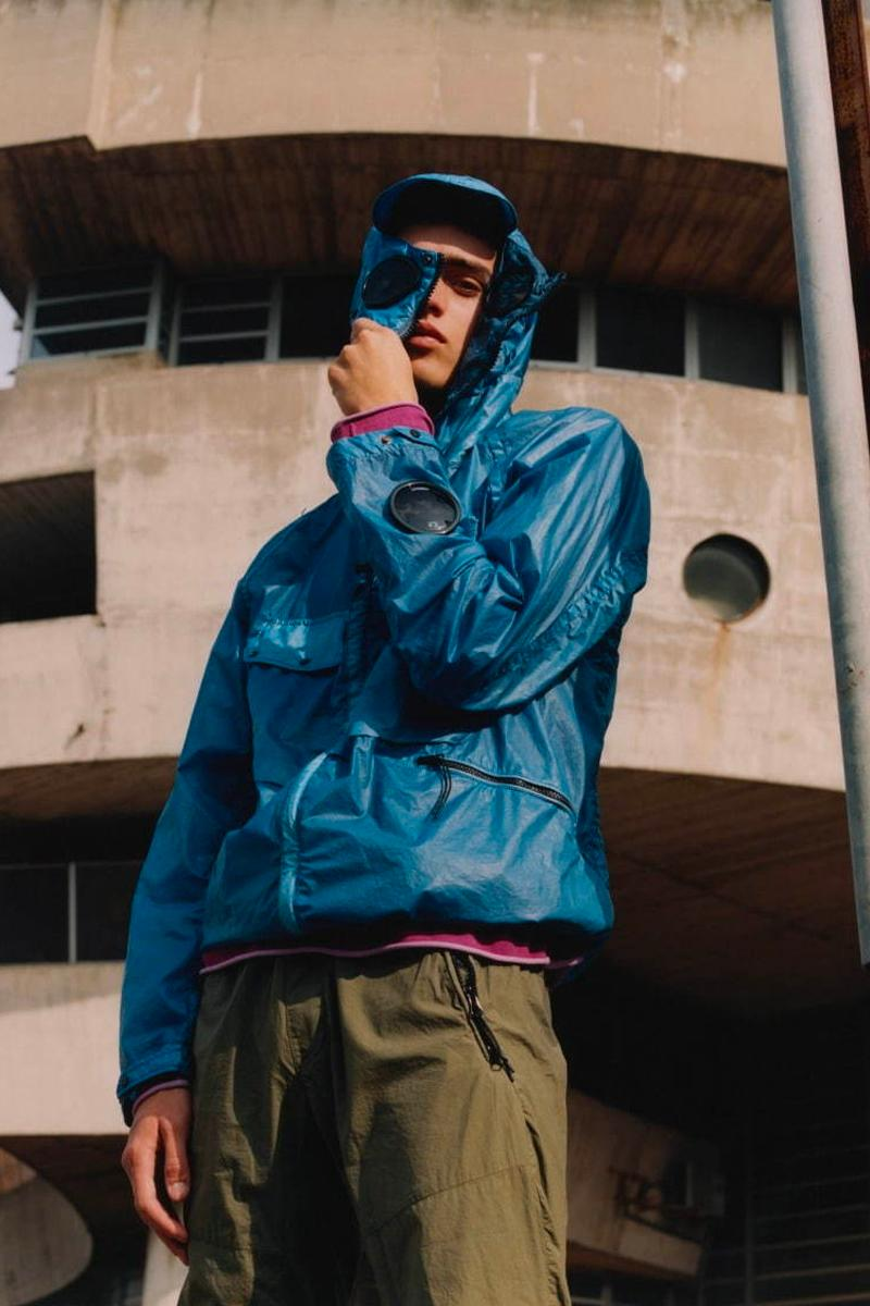 C.P. Company SS20 Collection Lookbook techwear technical apparel sportswear casual contemporary menswear athleisure outerwear garment dyeing spring/summer 2020 goggle