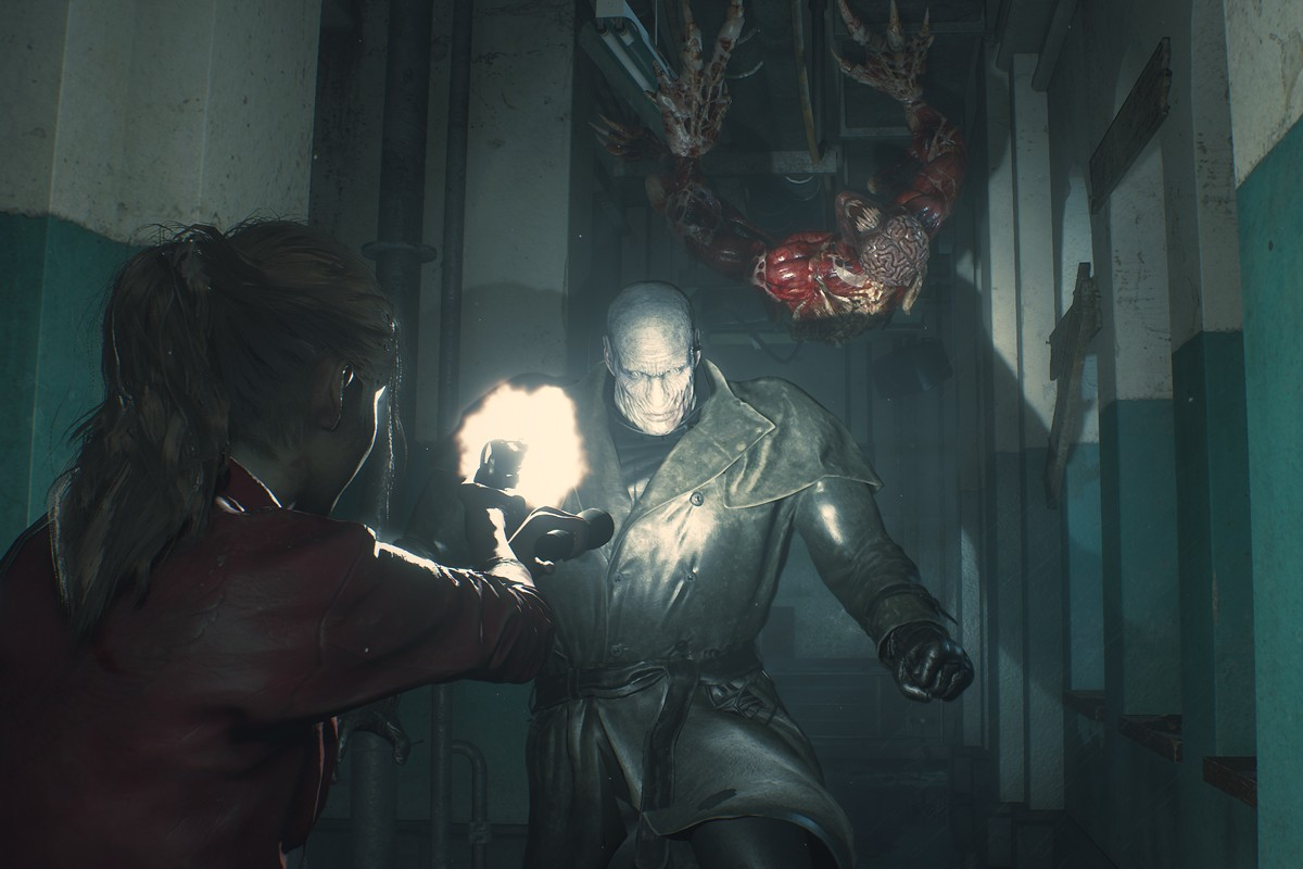 Capcom Resident Evil 3 Review Resident Evil 2 Resident Evil 4 Resident Evil 5 Resident Evil 6 Resident Evil 7 Bioweapon RE Nemesis Operation Raccoon City ) Umbrella Corps April 3 PlayStation PC Xbox