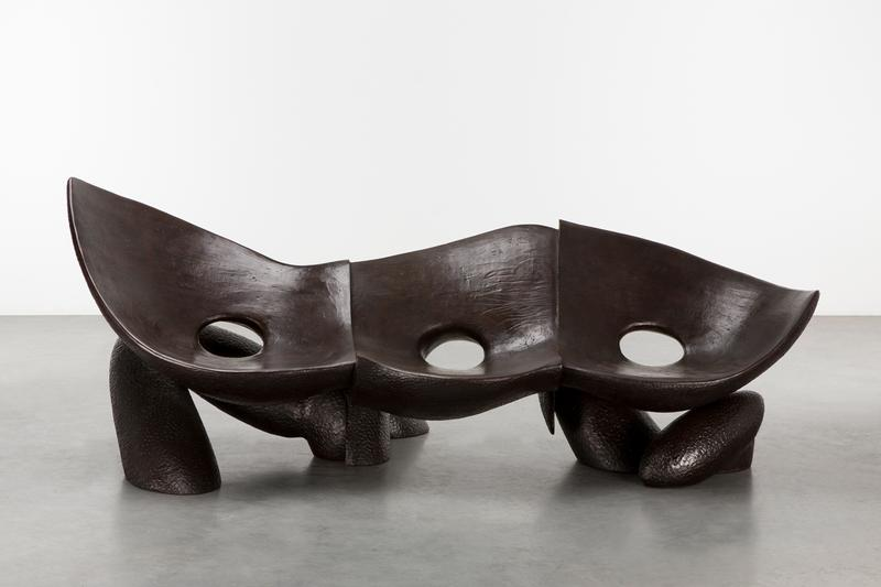 "Carpenters Workshop Gallery ""Hope and Togetherness"" Exhibition Sculpture Furniture Installations Studio Drift Nacho Carbonell Wonmin Park Studio Job Pablo Reinoso  Atelier Van Lieshout"