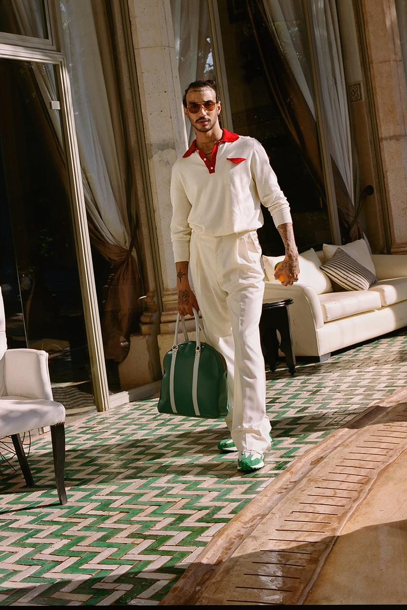 casablanca new balance spring summer 2020 campaign imagery release information 827 buy cop purchase news browns end