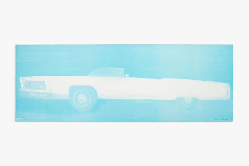 chanel cadillac joe andoe lithograph edition artwork prints collectibles