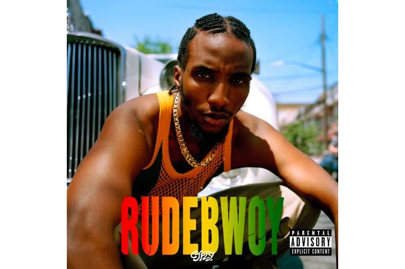 CJ FLY 'RUDEBWOY' Album Stream Pro era records nyc hip-hop rap statik selektah kirk knight conway the machine joey bada$$ dess hinds nyck caution