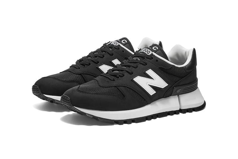 comme des garcons homme new balance rc1300 black white made in us release date info photos price