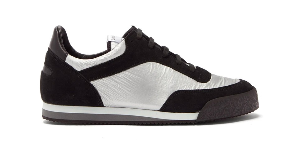 COMME des GARÇONS SHIRT & Spalwart Drop Silvery Pitch Low Sneakers