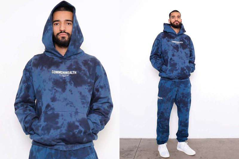 commonwealth spring summer 2020 ss20 collection lookbook release tie dye sweatsuits chocolate city tshirts