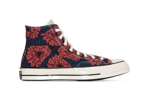 Converse Drops Tri-Colored Chuck 70 Sporting All-Over Floral Print