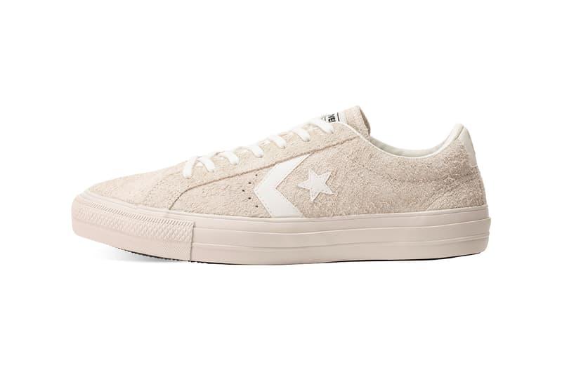 Converse PRORIDE SK OX Off White Olive menswear streetwear skateboarding skate board suede nubuck SHINPEI UENO shoes footwear trainers runners sneakers kicks boardslide kick flip