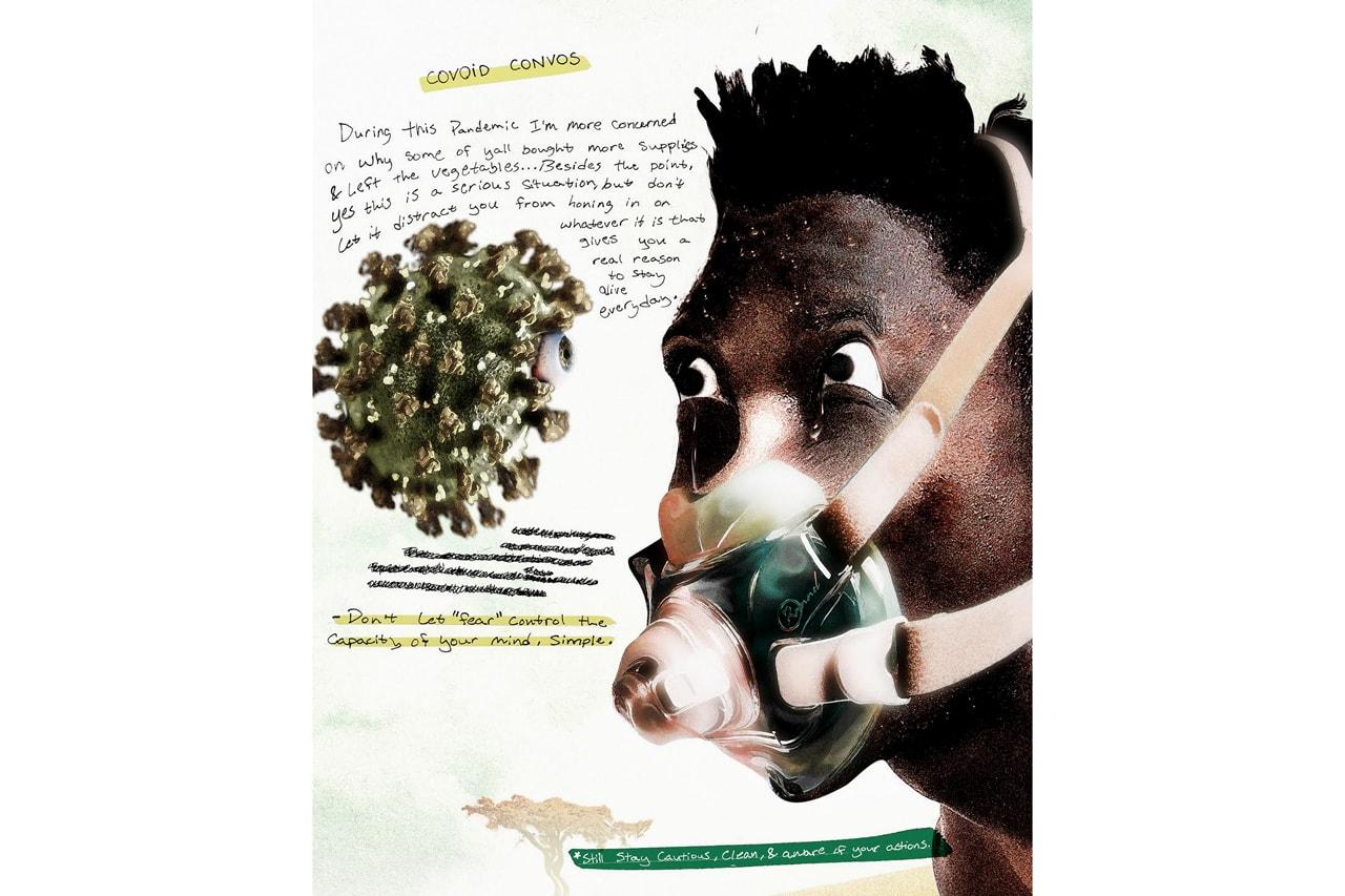 artist illustrations coronavirus pandemic greg mike efdot persue isaac pelayo madsteez gerald feliciano mitsuo kubo david park jordi ros rannel ngumuya sean kush lushsux