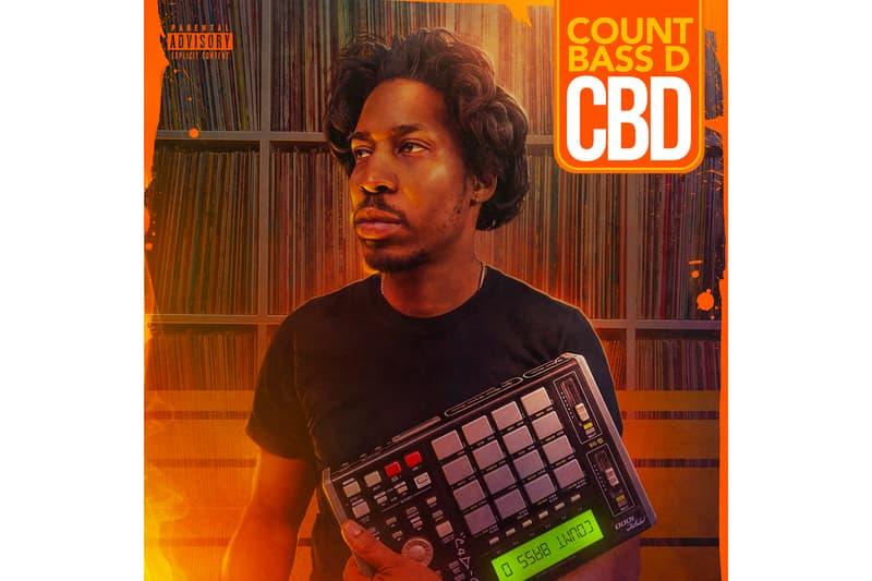 Count Bass D CBD Album Stream mf doom snoop dogg