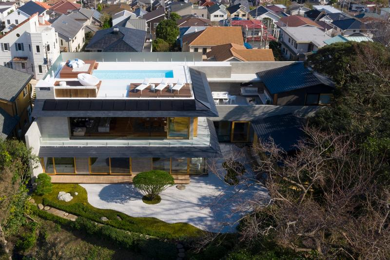 Hitoshi Saruta CUBO Design Architect House Design Kamakura Japan T3 'Sukiya' Architecture
