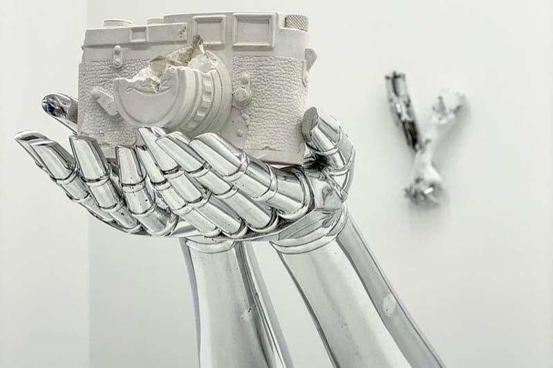 daniel arsham hajime sorayama second sculpture edition artwork collectibles