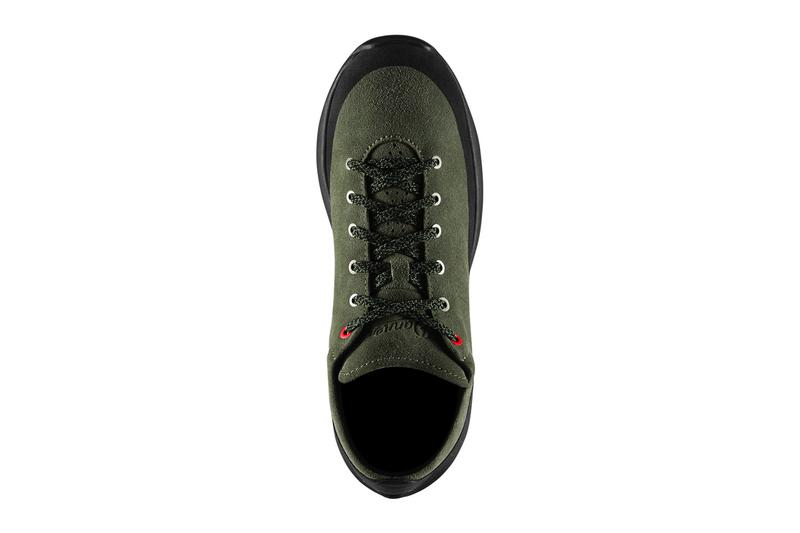 danner caprine low suede vibram sole outsole deep lichen boots trail hiking outdoors wilderness