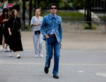 Look of the Week: Transition Through the Season in Denim on Denim