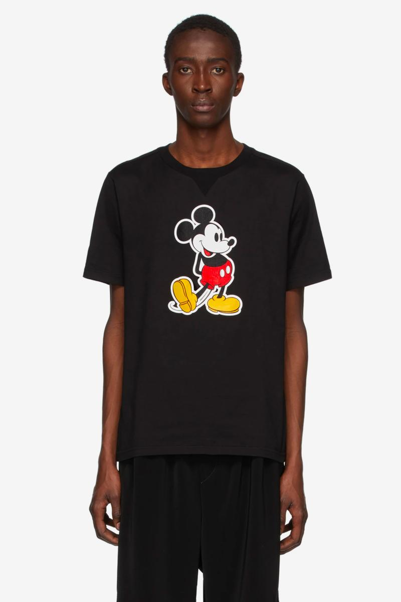 Disney TAKAHIROMIYASHITA TheSoloist. Mickey Mouse Hoodie Knit T-Shirt Release info Date Buy Price SSENSE Black White