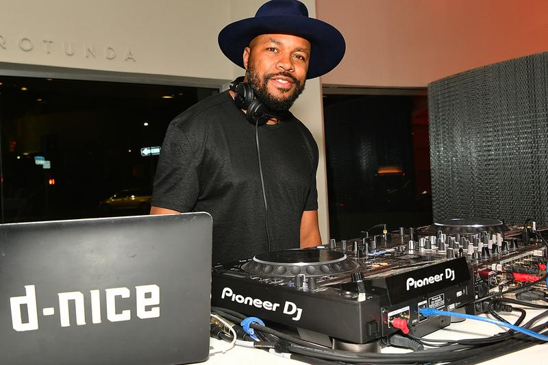 "DJ D-Nice Shares ""Homeschool"" Dance Party Playlist Emotions ""Best of My Love,"" Sylvester ""You Make Me Feel Mighty Real,"" and Stevie Wonder ""All I Do."" hip-hop rap funk jazz soul R&B quarantine self-isolation"