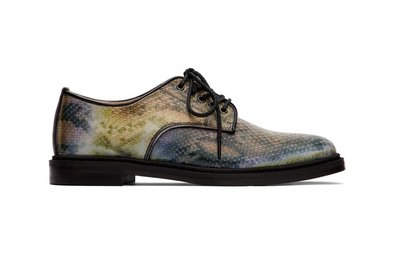 doublet Invisible Lenticular Shoes Release Info Buy Price SSENSE Snakeskin