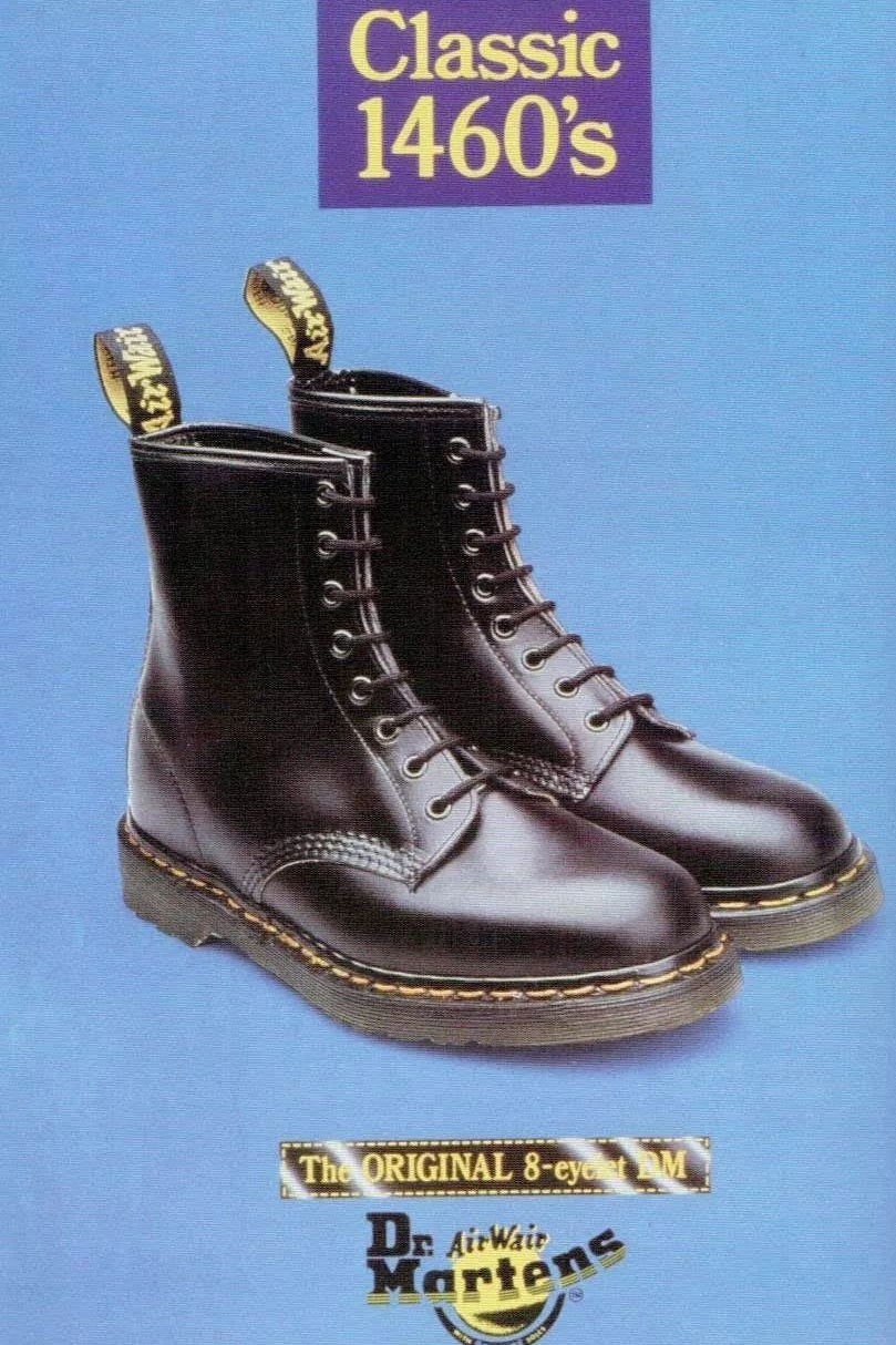 Dr. Martens 1460 Boot 60th Anniversary Legacy history shoe sixty 2020 april 1
