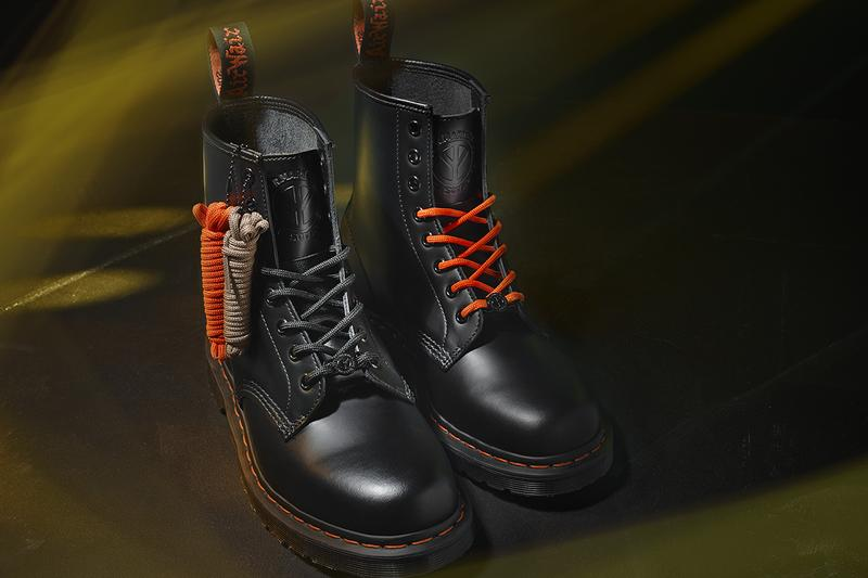 babylon dr martens beams 1460 remastered chaos boot peace sign orange punk rude boys 1960s buy cop purchase release information