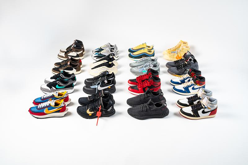 """eBay x Stadium Goods """"Sneaker Showdown"""" Launch Reduced Price HYPEBEAST Sneakers Rare Collectable Competitions Hyped Shoes Travis Scott YEEZY Off-White sacai Sean Wotherspoon AM1/97 AJ1 Air Jordan 1 Retro High OG 85 Union Los Angeles atmos Tokyo Elephant"""