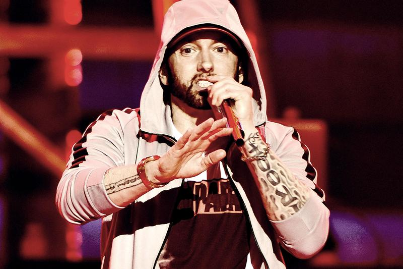 Eminem Previews New Godzilla Music Video featuring Juice WRLD by Lyrical Lemonade Music to be Murdered To Marshall Mathers Slim Shady EP HYPEBEAST Listen Watch Rap Rapper Detroit Old School Classic Shade45