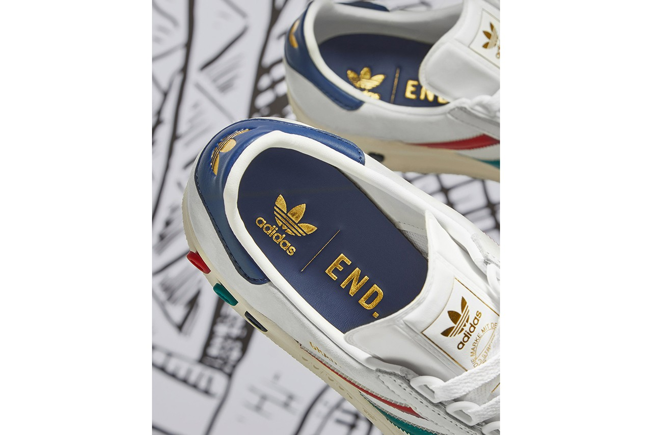 END. Clothing x adidas