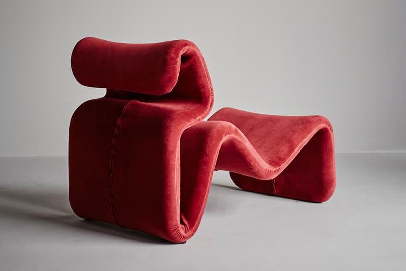 Artilleriet Etcetera Chair Series Relaunch Easy Chair Lounge Chair Footstool Sand Beige Dark Chocolate Zink Grey Ruby Red Klein Blue Grass Green