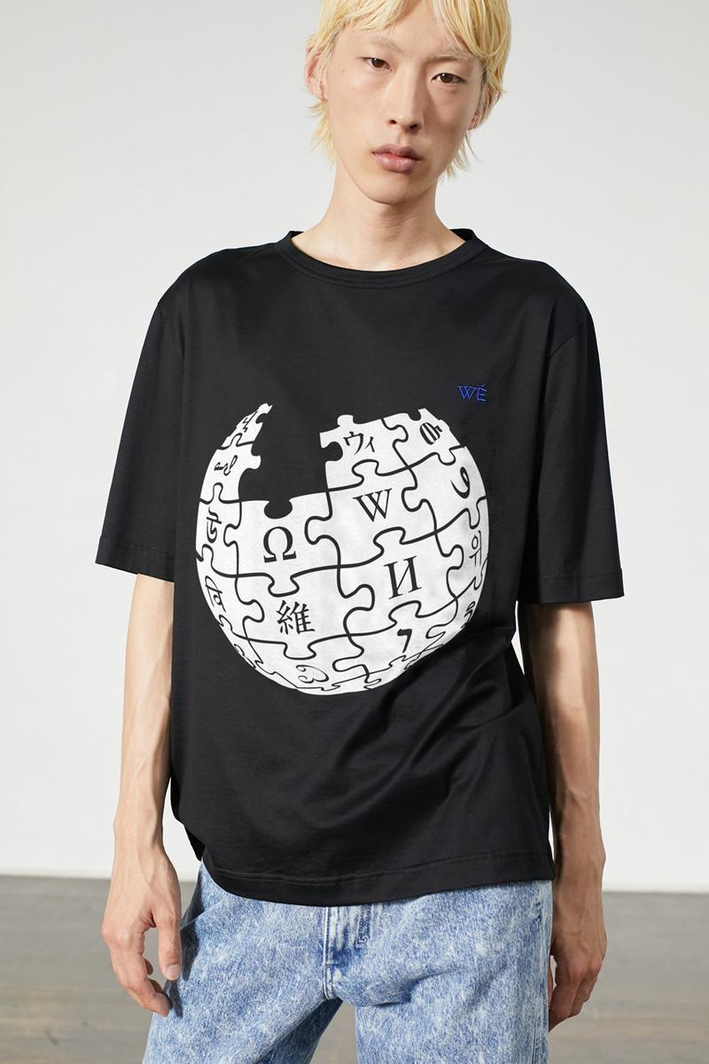 "Wikipedia x Études Spring/Summer 2020 Collection Shirts Shorts Caps Long Sleeve Button Downs T-shirts ""Diffusion"" ""Illusion"" Screen Shots Languages"